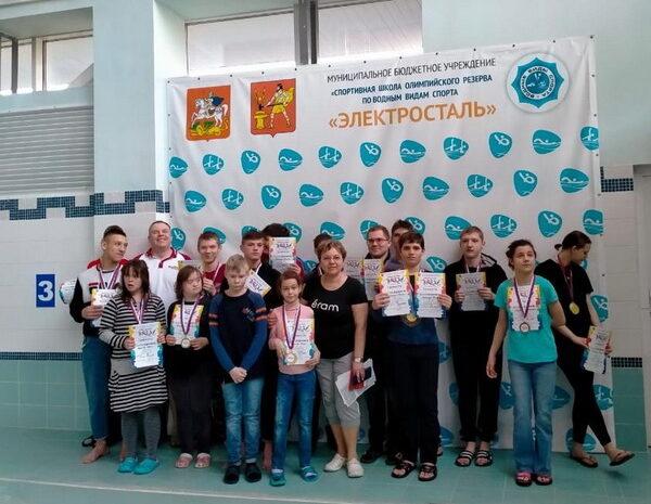 открытый Чемпионат по плаванию среди инвалидов ПОДА
