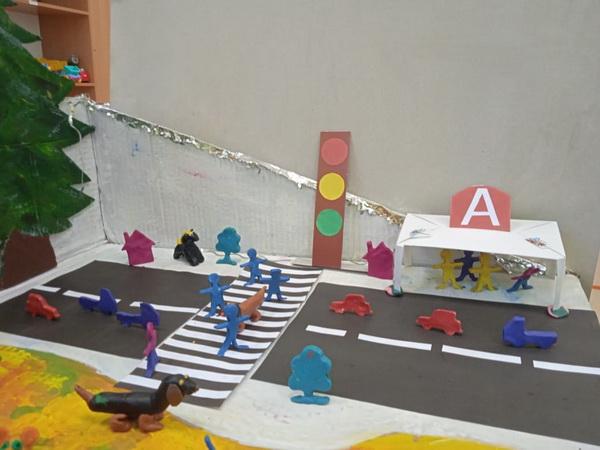 Выставка по правилам дорожного движения